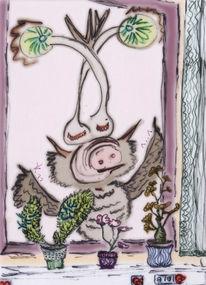 Schweinischeeule, Sinndeslebens, Andersseinalsandere, Antennenstilaugen