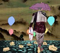 Rettungsring, Luftballonblues, Lebensregenschirm, Seelanwanderer