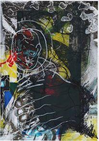 Hände, Fusion, Acrylmalerei, Fotografie