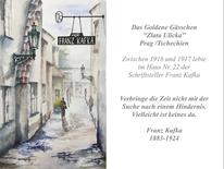 Café franz kafka, Das goldene gässchen, Zlata ulicka, Franz kafka