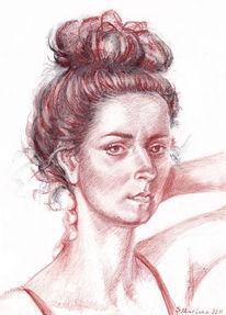 Gegenständlich, Portrait, Realismus, Technik