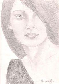 Frau, Mädchen, Dame, Zeichnungen