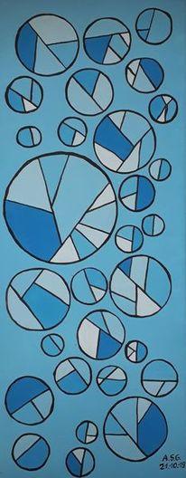 Kreis, Acrylmalerei, Rund, Fenster
