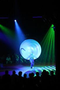 Ballonkünstler, Jongleur, Led, Digitale kunst