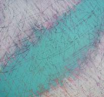 Kleinformatig, Zeichnung, Abstrakt, Ohne titel