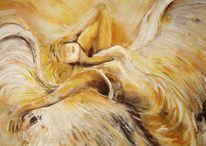 Malerei, Menschen, Engel