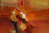 Malerei, Fantasie, Terra, Ausschnitt