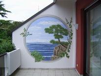 Illusionsmalerei, Wandmalerei, Malerei, Durchblick