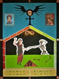 Totentanz, Tarot, Tanz, Trumpfkarte xiii