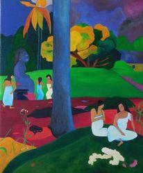 Moderne kunst, Zeitgenössisch, Halle, Modern art painting
