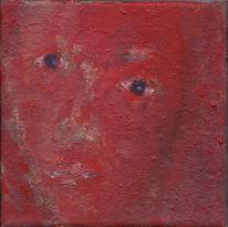 Ölmalerei, Gesicht, Kopf, Portrait