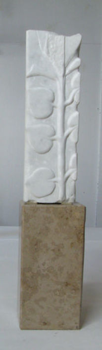 Marmor, Skulptur, Pflanzen, Plastik