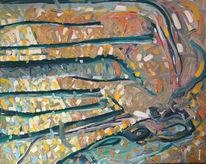 Baum, Impressionismus, Herbst, Expressionismus