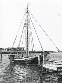 Punkt, Schiff, Boot, Pointillismus