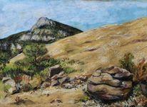 Baronnies, Landschaft, Malerei,