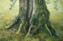 Malerei, Olivenbaum