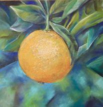 Früchte, Italien, Orange, Malerei