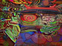 Vmann, Verfassungsschutz, Outsider art, Digitale kunst