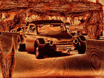Auto, Hot rod, Outsider art, Digitale kunst