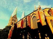 Marien, Sinken, Marienkirche, Lübeck