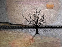 Horizont, Morgen, Sonne, Digitale kunst