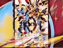 Fantasie, Vergehen, Digital art, 2017