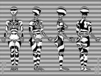 Wespentaille, Körper, Glanz, Figur