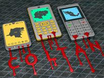Schrift, Telefon, Überflus, Blut