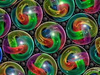 Glas, Dekoration, Knoten, Streulicht