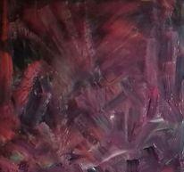Violett, Schwarz, Rot, Malerei