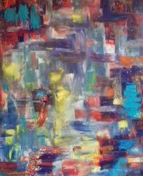 Rot, Blau, Gelb, Malerei
