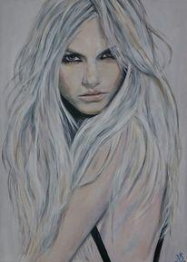 Frau, Blond, Model, Mädchen