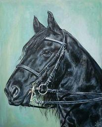 Friese, Pferdekopf, Pferde, Malerei