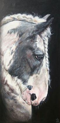 Pferde, Basteln, Pferdekopf, Malerei