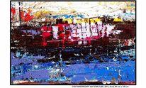 Auftragsarbeit, Blauer himmel, Hafen, Dock