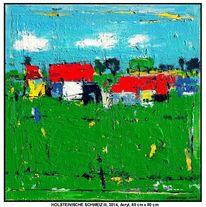 Malerei, Gelb, Acrylmalerei, Auftragsarbeit