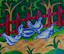 Huhn, Dekoration, Gefühl, Schatten