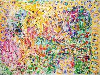 Dekoration, Expressionismus, Abstrakt, Farben