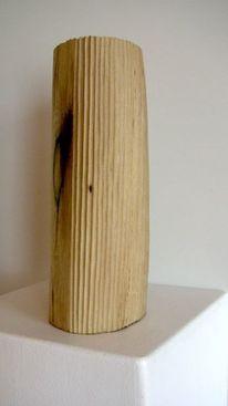 Skulptur, Holz, Braunschweig, Holzskulptur