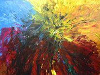 Fusion, Malerei,