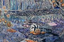 Nordpol, Pinguin, Antarktis, Eislandschaft