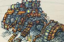 Roboter, Industrie, Technologie, Generator