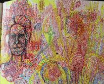 Halluzinogen, Surreal, Medizin, Abstrakt