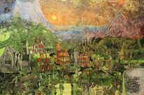 Märchen, Mittelalter, Fantasie, Berge