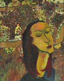 Brummer, Park, Modigliani, Frau