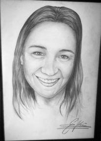 Augen, Frau, Portrait, Zeichnungen