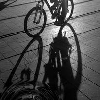 Asphalt, Fahrrad, Rad, Zeichnungen