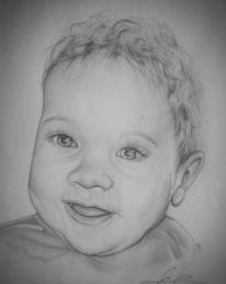 Baby, Portrait, Kinder, Zeichnungen