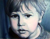 Portrait, Menschen, Kind, Mann