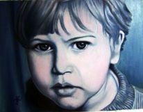 Kind, Portrait, Mann, Menschen